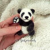 Куклы и игрушки ручной работы. Ярмарка Мастеров - ручная работа Панда крючком. Вязаная игрушка. Handmade.