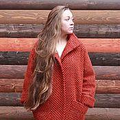 Одежда ручной работы. Ярмарка Мастеров - ручная работа Пальто Oversize с воротником-стойкой. Handmade.
