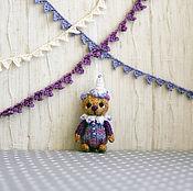 Куклы и игрушки ручной работы. Ярмарка Мастеров - ручная работа Миниатюрный цирковой медвежонок. Handmade.