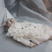 handmade. Livemaster - original item interior doll: Pierrot`s boy.. Handmade.