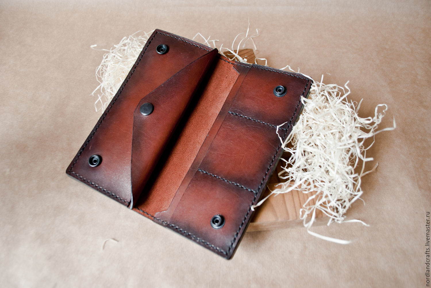 leather purse, purse leather, Wallets, Moscow,  Фото №1