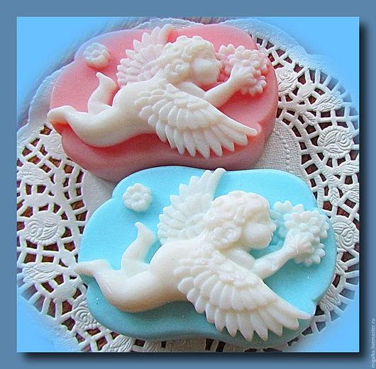 """Мыло ручной работы. Ярмарка Мастеров - ручная работа. Купить Мыло """"Ангел"""". Handmade. Комбинированный, День всех влюбленных"""