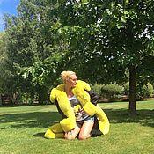 """Одежда ручной работы. Ярмарка Мастеров - ручная работа Куртка-парка """" Лимончик """". Handmade."""