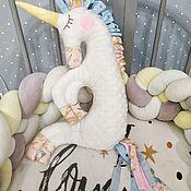 Мягкие игрушки ручной работы. Ярмарка Мастеров - ручная работа Мягкие игрушки: Игрушка Единорог. Handmade.