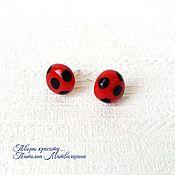 Украшения handmade. Livemaster - original item Earrings Lady Bug. Ladybug. Costume Lady Bug.. Handmade.