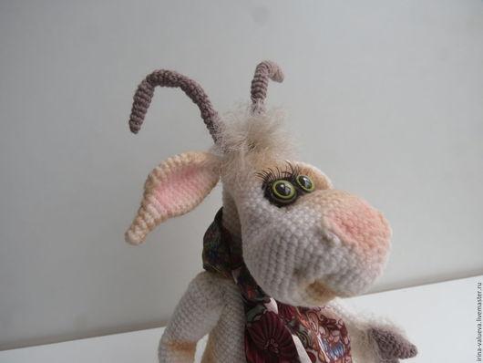 Игрушки животные, ручной работы. Ярмарка Мастеров - ручная работа. Купить коза Марфуша. Handmade. Коза, ручная работа handmade