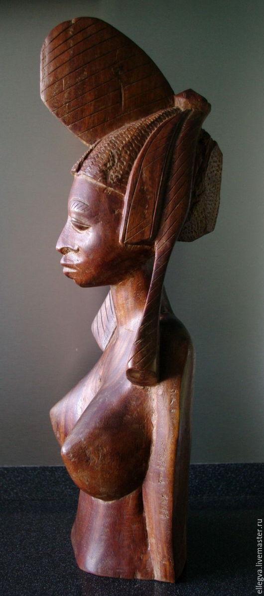 Статуэтки ручной работы. Ярмарка Мастеров - ручная работа. Купить Принцесса Йоруба. Handmade. Железное дерево, уникальный подарок