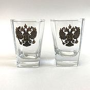 Посуда handmade. Livemaster - original item glasses for vodka or cognac. Handmade.