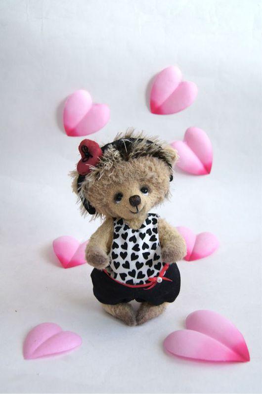 Мишки Тедди ручной работы. Ярмарка Мастеров - ручная работа. Купить Лилу. Handmade. Бежевый, авторская игрушка, сердечко, синтепух