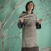 Одежда ручной работы. Ярмарка Мастеров - ручная работа Пальто Февральский снег. Handmade.