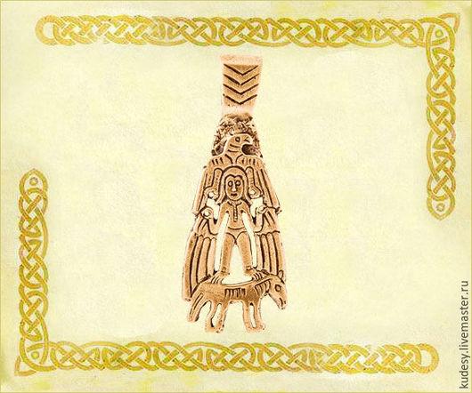 Серьги ручной работы. Ярмарка Мастеров - ручная работа. Купить Крылатая богиня. Handmade. Авторские украшения, русский стиль