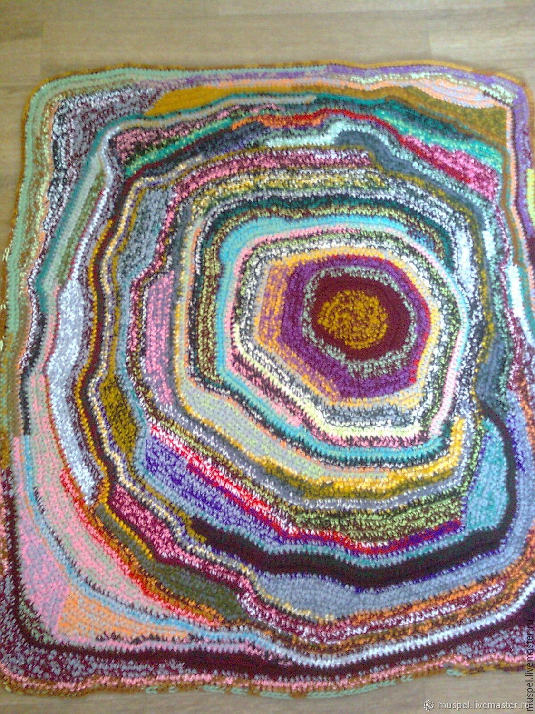 Текстиль, ковры ручной работы. Ярмарка Мастеров - ручная работа. Купить Очень цветной 2. Handmade. Для дома