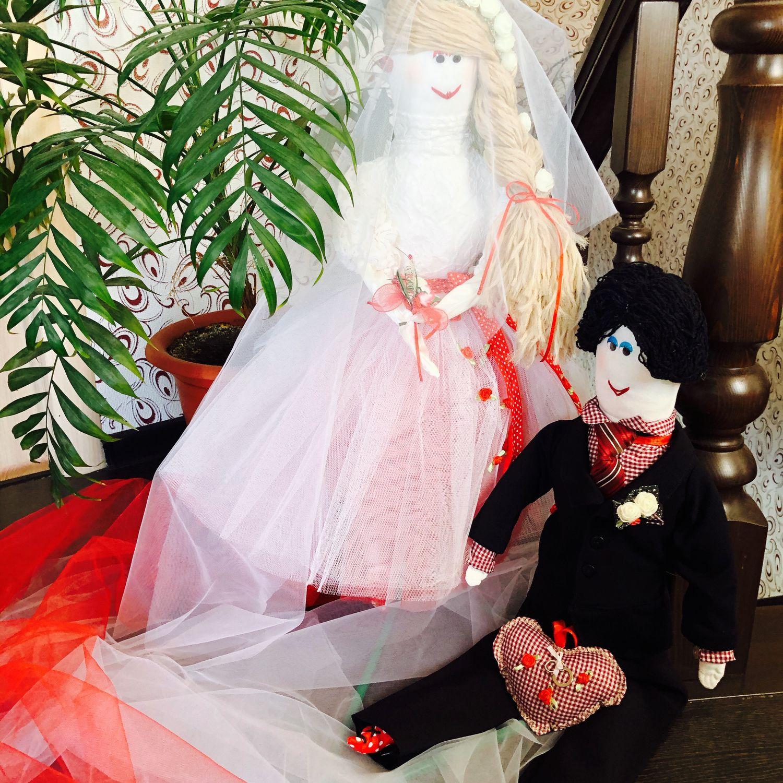 Свадебные куклы, Куклы Тильда, Барнаул,  Фото №1