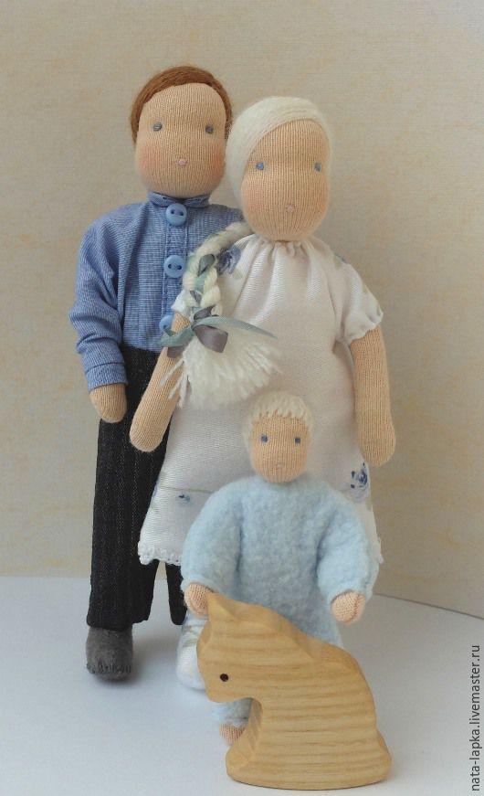 Семья, Вальдорфские куклы и звери, Саров,  Фото №1