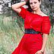 Кармен красное платье в пол. на выпускной, Платья, Ростов-на-Дону, Фото №1