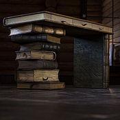 Для дома и интерьера ручной работы. Ярмарка Мастеров - ручная работа Книжный стол и стул. Handmade.
