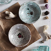 """Посуда ручной работы. Ярмарка Мастеров - ручная работа блюдца """"ANTIQUE"""". Handmade."""