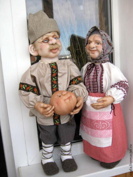 Дед и Баба, Куклы, Рязань, Фото №1