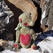 Куклы и игрушки ручной работы. Ярмарка Мастеров - ручная работа Оливковый поцелуйчик. Handmade.