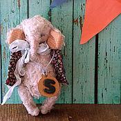 Куклы и игрушки ручной работы. Ярмарка Мастеров - ручная работа Sлондон, слон)). Handmade.