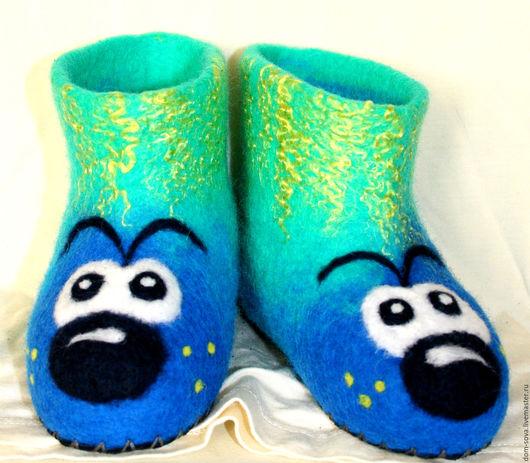 Обувь ручной работы. Ярмарка Мастеров - ручная работа. Купить Детские чуни. Handmade. Обувь, детская обувь, тёмно-синий
