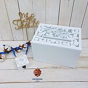 Свадебный салон handmade. Livemaster - original item Treasury for envelopes with a carved pattern and initials on the cover!. Handmade.