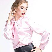 Одежда ручной работы. Ярмарка Мастеров - ручная работа Блузка нежно розовая. Handmade.