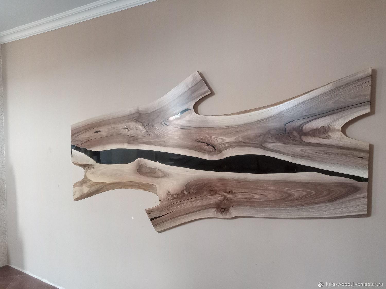 Панно из грецкого ореха с заливкой В НАЛИЧИИ, Панно, Жигулевск,  Фото №1