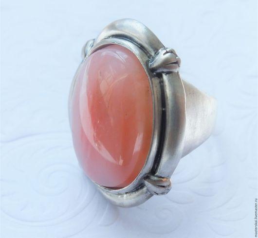 """Кольца ручной работы. Ярмарка Мастеров - ручная работа. Купить Кольцо """"Ореста """" - розовый опал, серебро 925. Handmade."""
