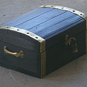 Для дома и интерьера handmade. Livemaster - original item A chest made of cedar Koshchey Immortal. Handmade.