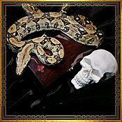 Субкультуры handmade. Livemaster - original item Gothic jewelry box Coffin . Coffin casket for doll. Handmade.