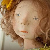Куклы и игрушки ручной работы. Ярмарка Мастеров - ручная работа Мятный горошек. Handmade.