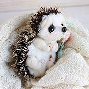 Куклы и игрушки ручной работы. Ярмарка Мастеров - ручная работа Ёжик авторская игрушка Тедди. Handmade.