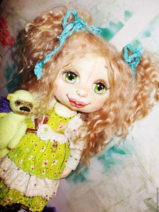 Коллекционные куклы ручной работы. Ярмарка Мастеров - ручная работа. Купить Софья. Соня. Сонечка. Кукла авторская. Кукла текстильная ручной работы. Handmade.
