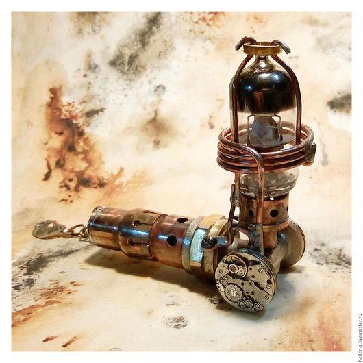 """Стимпанк ручной работы. Ярмарка Мастеров - ручная работа. Купить Флешка СТИМПАНК """"Space Pirate-Mars Pathfinder II"""" в футляре. Handmade."""