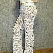 Одежда ручной работы. Ярмарка Мастеров - ручная работа пляжные штаны из хлопка. Handmade.