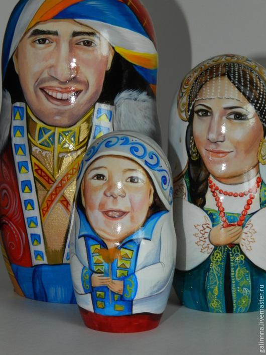 Портретные куклы ручной работы. Ярмарка Мастеров - ручная работа. Купить ПОРТРЕТНАЯ МАТРЁШКА. Handmade. Белый, портрет по фото