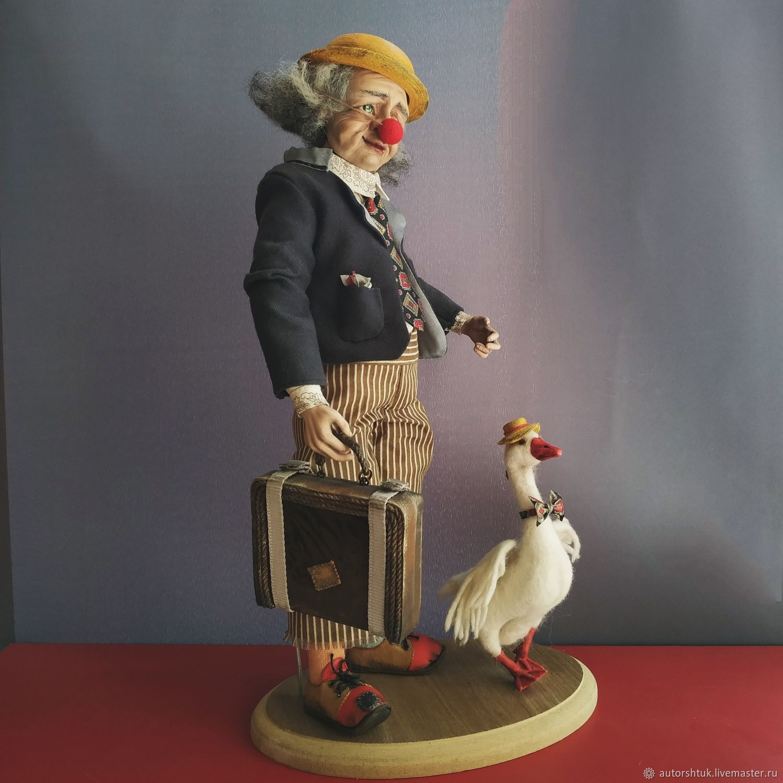 Кукла - Старый клоун, Куклы и пупсы, Томск,  Фото №1