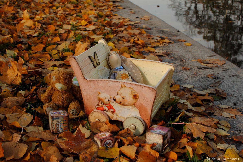 """Тележка для игрушек """"Три медведя"""", Элементы интерьера, Санкт-Петербург,  Фото №1"""