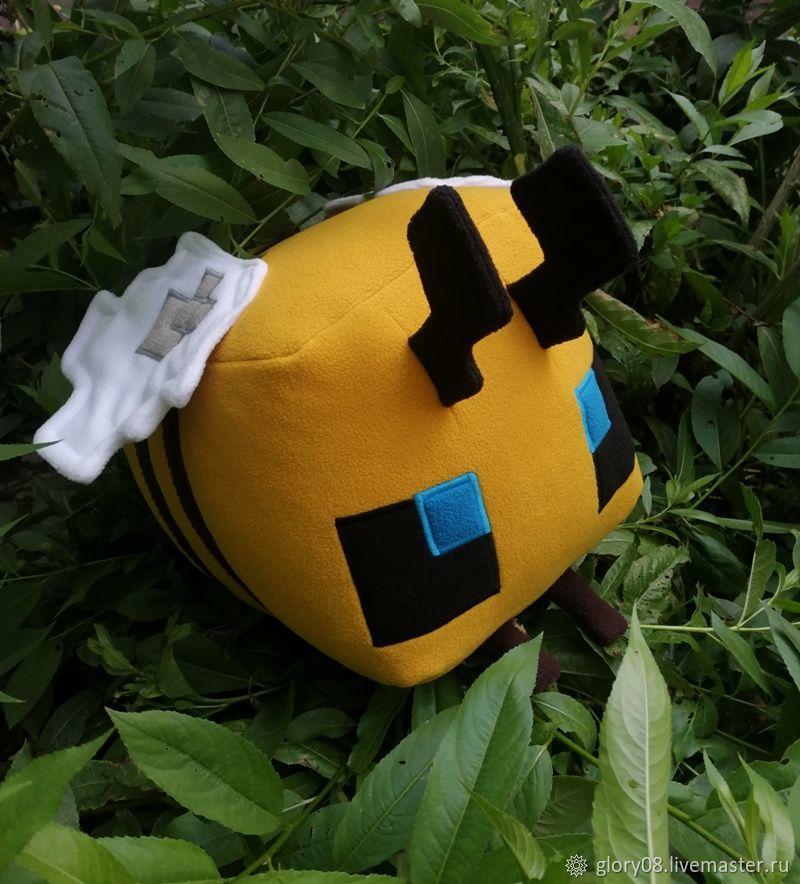 Пчела большая Майнкрафт, Мягкие игрушки, Москва,  Фото №1