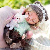 Куклы и игрушки ручной работы. Ярмарка Мастеров - ручная работа Тедди долл Спящая красавица. Handmade.