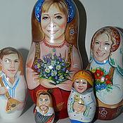 Куклы и игрушки handmade. Livemaster - original item Portrait matryoshka photo. Handmade.