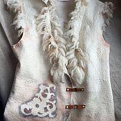 Одежда ручной работы. Ярмарка Мастеров - ручная работа валяный жилет Кельтские мотивы 2. Handmade.