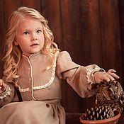 """Работы для детей, ручной работы. Ярмарка Мастеров - ручная работа Платье """"Настюша"""". Handmade."""