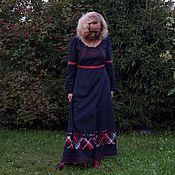 Платья ручной работы. Ярмарка Мастеров - ручная работа Платье из хлопка Русский стиль. Handmade.