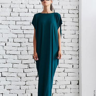 Одежда ручной работы. Ярмарка Мастеров - ручная работа Изумрудное платье, платье на выход. Handmade.