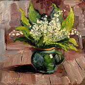 """Картины и панно ручной работы. Ярмарка Мастеров - ручная работа """"Запах весны"""". Handmade."""