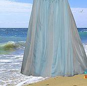 """Одежда ручной работы. Ярмарка Мастеров - ручная работа """"Пена морская"""" комбинированная шифоновая юбка. Handmade."""