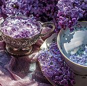Сахарница и сливочник с цветочным орнаментом