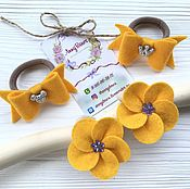 Работы для детей, handmade. Livemaster - original item Clip for hair bows and flowers. Handmade.